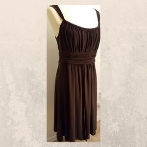 Jones Wear Brown Sleeveless Dress 14